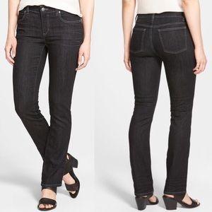 Eileen Fisher Black Straight Leg Stretch Jeans